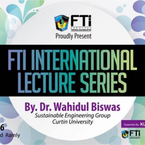 Agenda for FTI International Lecture Series