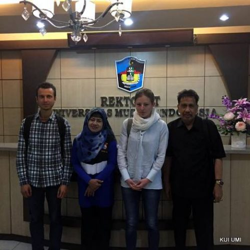 UMI Rector Meets International Internship Students