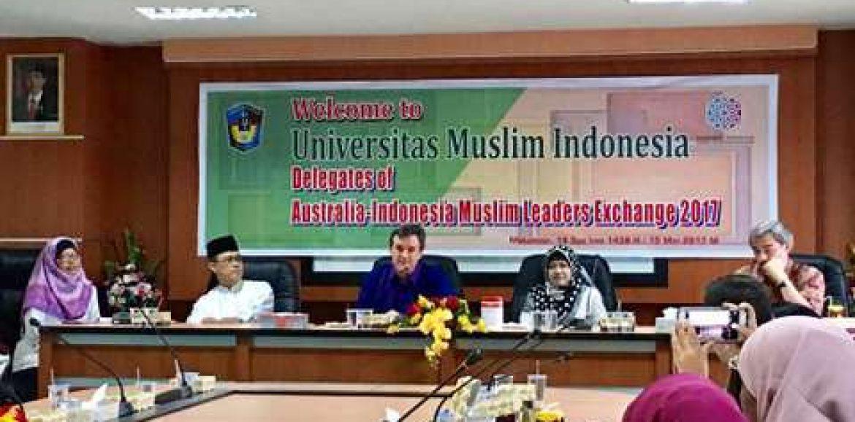 UMI Supports Australia-Indonesia Muslim Leader Exchange 2017