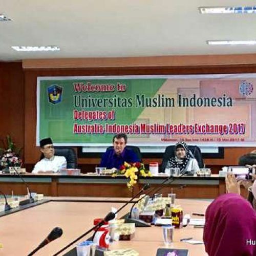 UMI Supports Australia-Indonesia Muslim Leader Exchange 2017