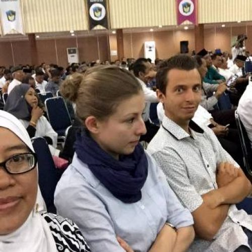 USMB Internship Students Join UMI Family Gathering