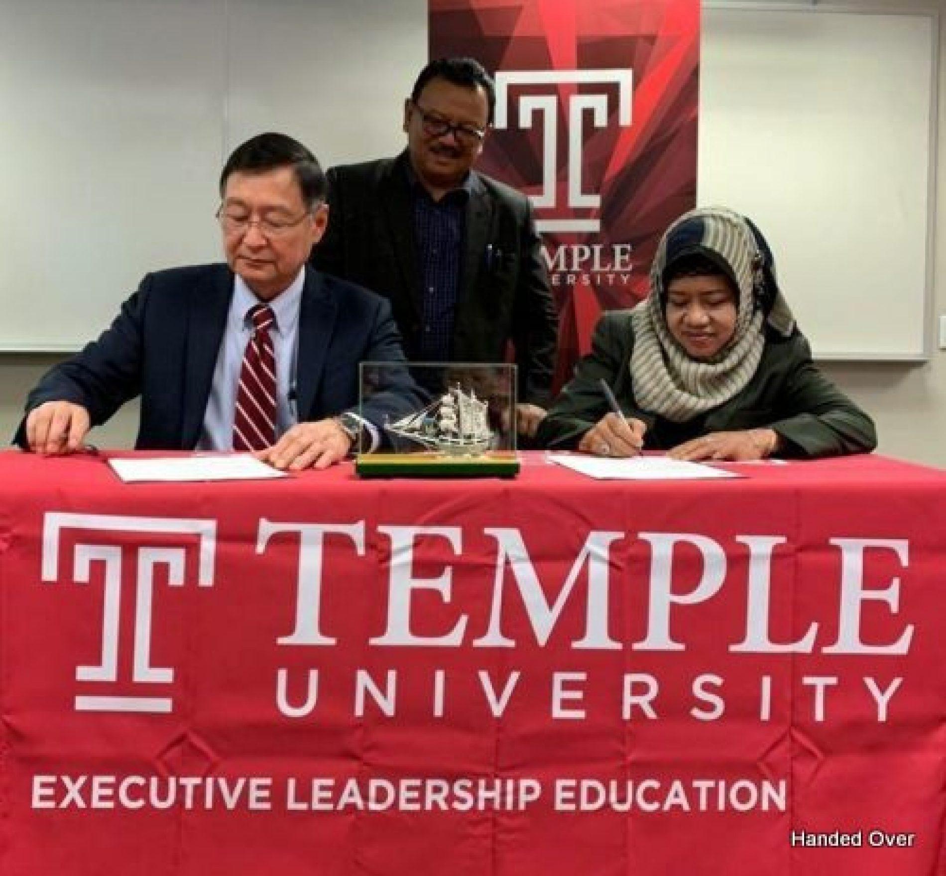 Begin the Consortium, Sulawesi's Universities  Celebrates the Boston Declaration