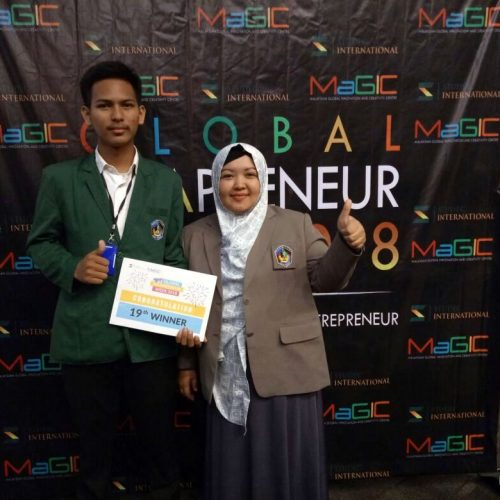 UMI Student Wins Award at the 2018 Global Ideapreneur Week Event