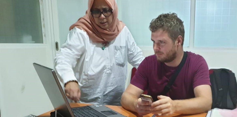 A Dutch Student is Taking an Internship at UMI