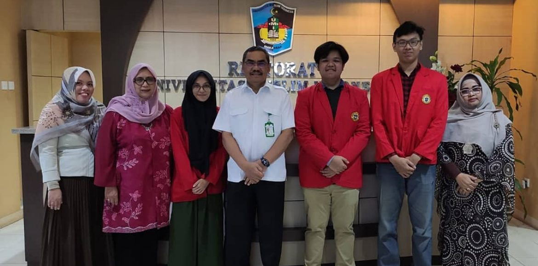 Hasanuddin University's Students Are Taking Internship at UMI
